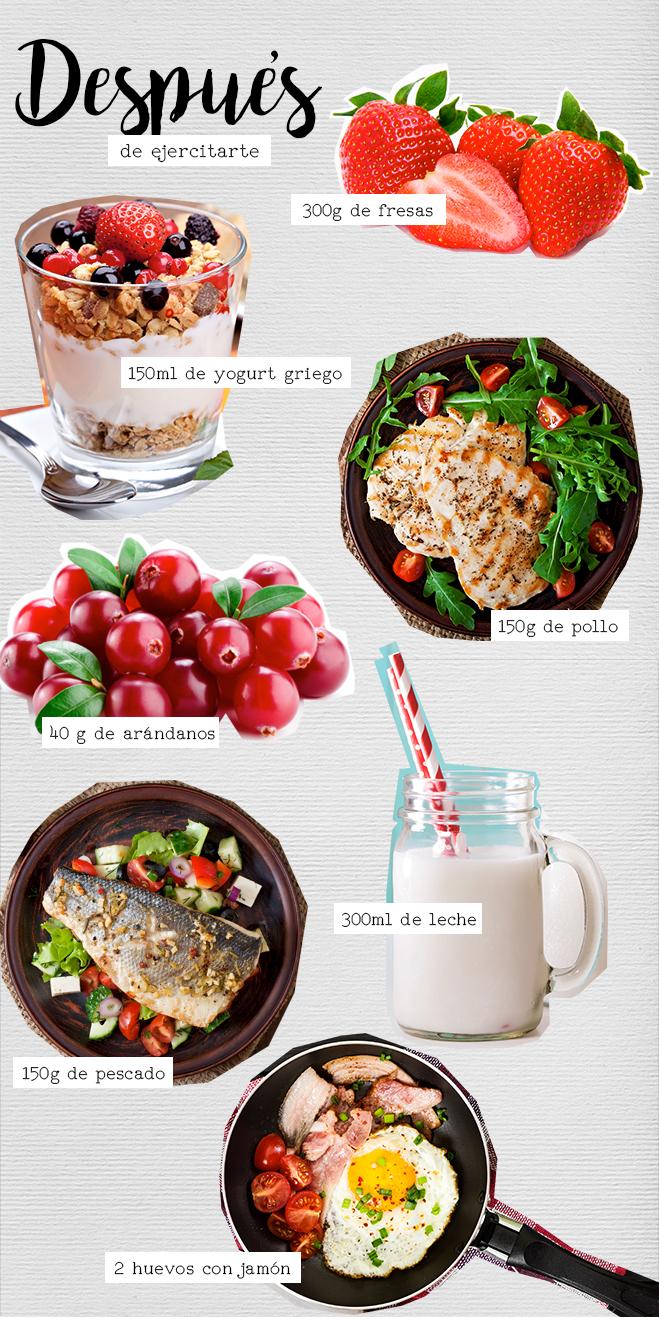 Comidas antes y despu s del ejercicio for Como preparar una cena saludable