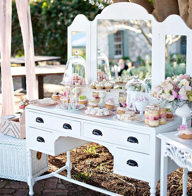 C mo hacer una mesa de dulces for Como disenar una mesa